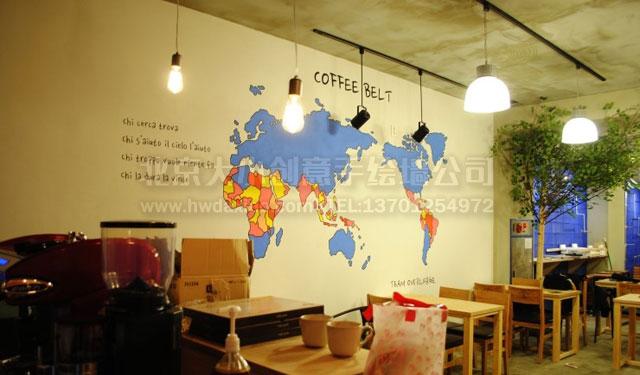 卡通地图 手绘世界地图