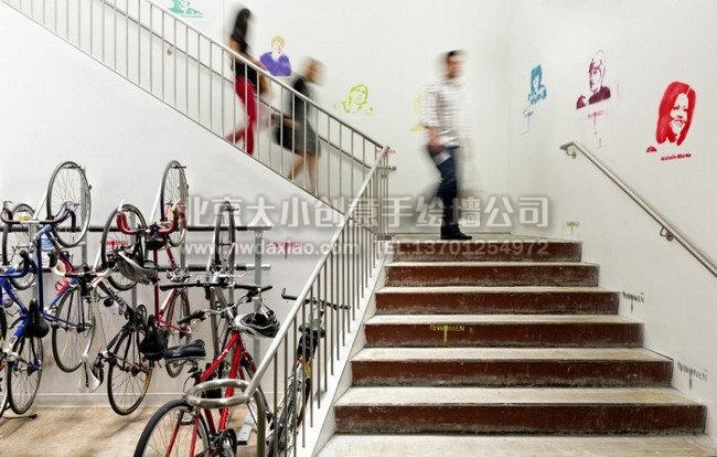企业文化墙 创意墙绘 卡通墙绘 北京墙绘公司 手绘壁画 墙体彩绘 墙绘