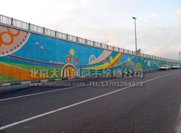 街道手绘墙 文化墙壁画
