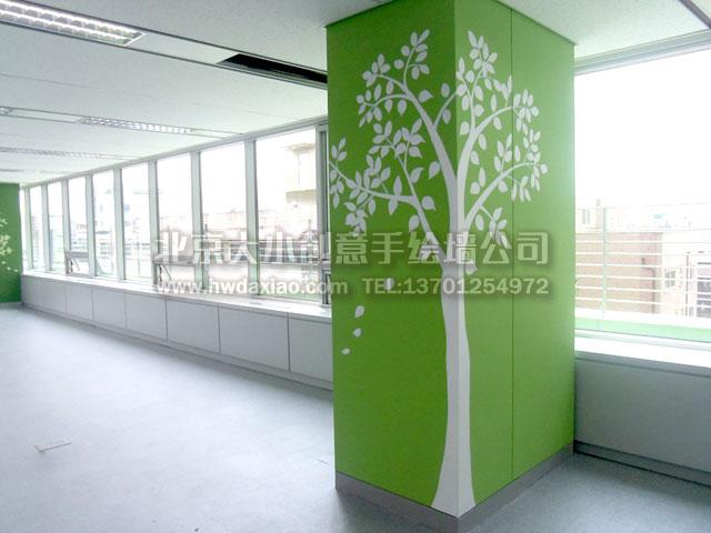 办公室柱子设计图展示图片