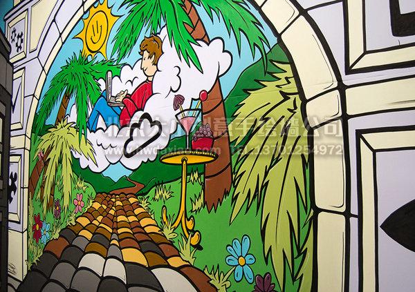 创意墙绘 办公室手绘墙 幼儿园手绘墙 文化墙 卡通墙绘 手绘墙素材图片