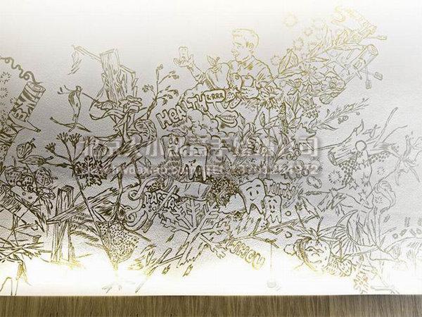 创意墙绘 办公室手绘墙 医院手绘墙 文化墙 卡通墙绘 手绘墙素材 北京