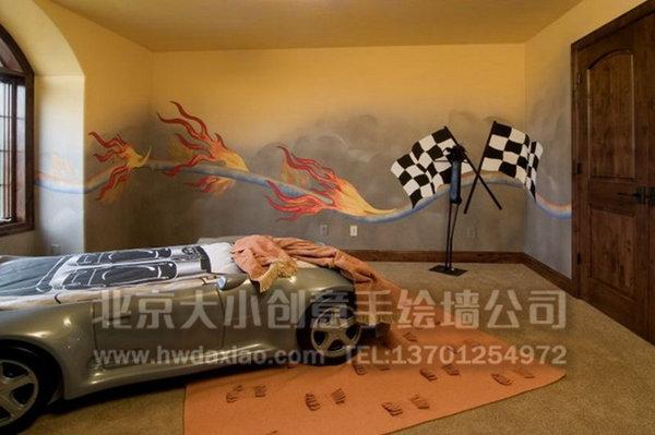 餐厅手绘墙 停车场手绘墙 儿童房彩绘 外墙彩绘 墙体彩绘 手绘壁画