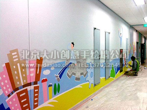 创意墙绘 办公室手绘墙 文化墙壁画 幼儿园墙绘 校园手绘墙 餐厅手绘