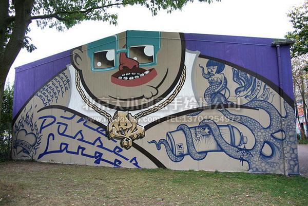 创意墙绘 办公室手绘墙 外墙彩绘 校园手绘墙 文化墙壁画 涂鸦手绘墙