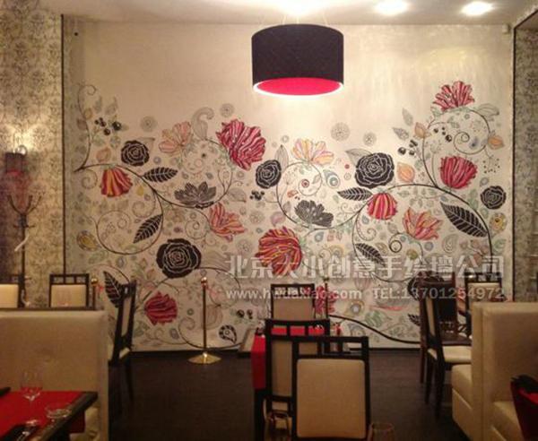 手绘墙素材 北京墙绘公司 手绘墙 墙体彩绘 墙绘价格 手绘壁画创意图片