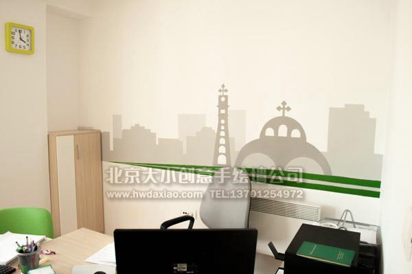 简约壁画 餐厅手绘墙 商场手绘墙 旅店手绘墙 手绘墙素材 北京墙绘