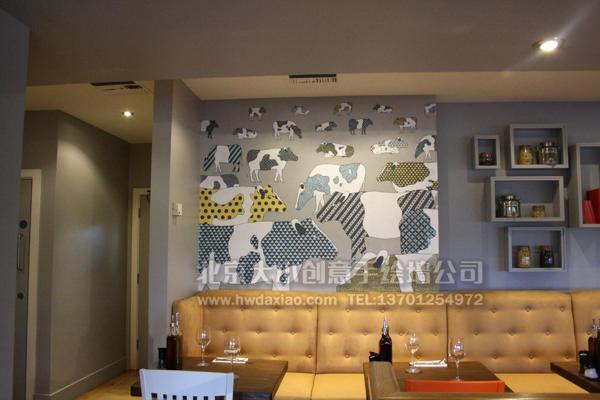 办公室手绘墙 店铺手绘墙 文化墙彩绘 创意墙绘 墙体彩绘 手绘壁画图片