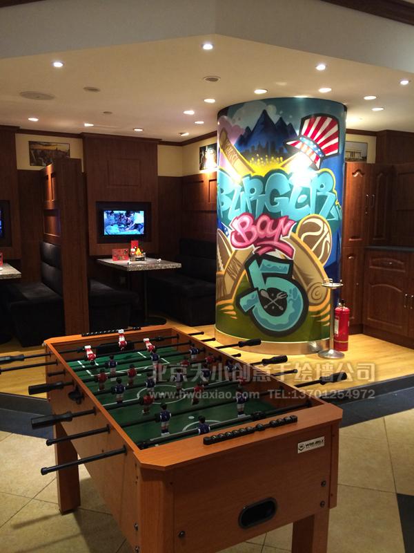 商场手绘墙 旅店手绘墙 酒吧手绘墙 文化墙彩绘 手绘墙素材 北京墙绘