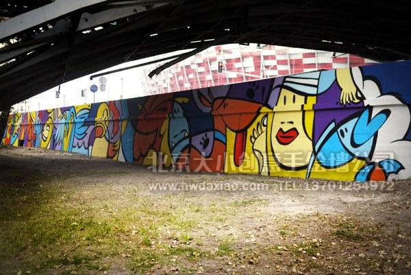 手绘墙素材 北京墙绘公司