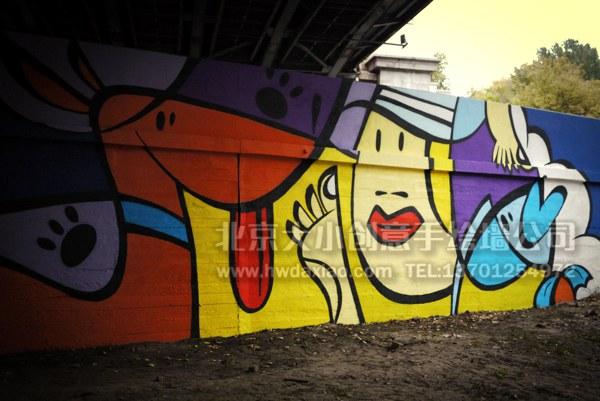 创意墙绘 办公室手绘墙 外墙彩绘 街道壁画 校园文化墙 走廊壁画 学校