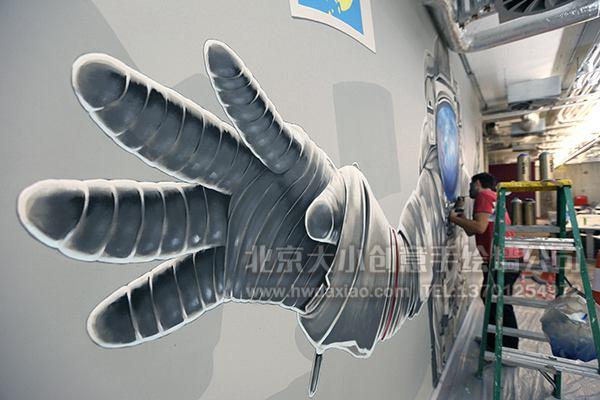 创意墙绘 办公室手绘墙 外墙彩绘 街道壁画 校园文化墙 走廊壁画 店铺