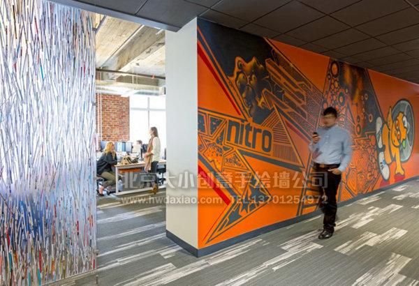 办公室背景墙 企业文化墙