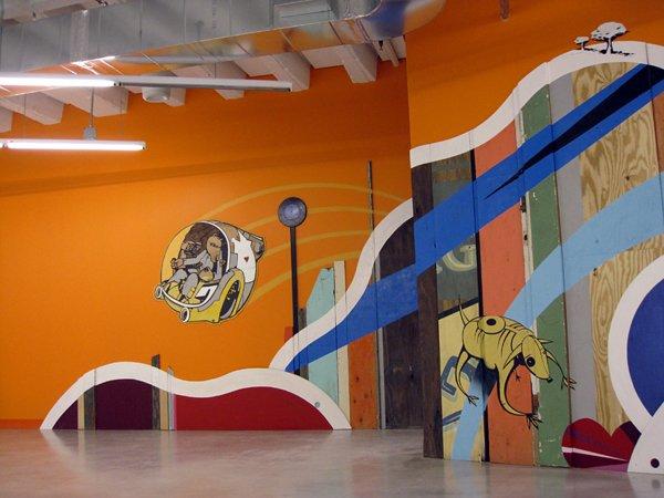 企业文化墙 创意墙绘 北京墙绘公司 手绘墙 墙绘公司 墙体彩绘 墙绘价