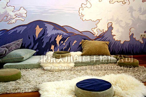 手绘壁画 墙绘价格 北京墙绘公司