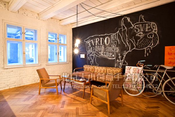 创意墙绘 办公室手绘墙 街道壁画 校园文化墙 走廊壁画 店铺彩绘 餐厅