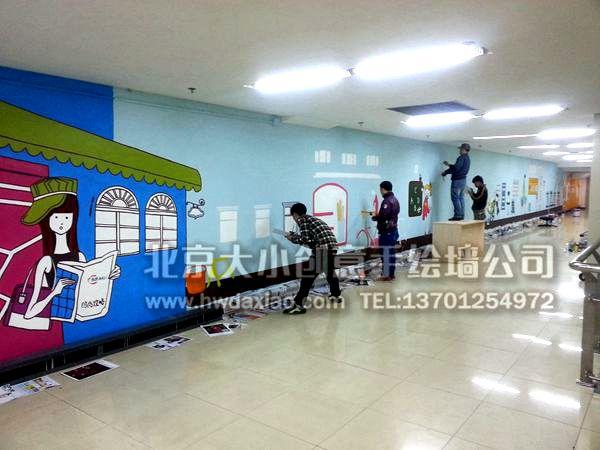 街道壁画 走廊壁画