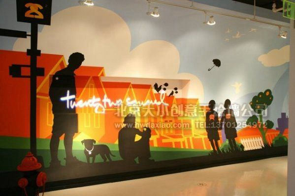 手绘墙素材 北京墙绘公司 手绘墙 墙体彩绘 墙绘价格 手绘壁画 涂鸦