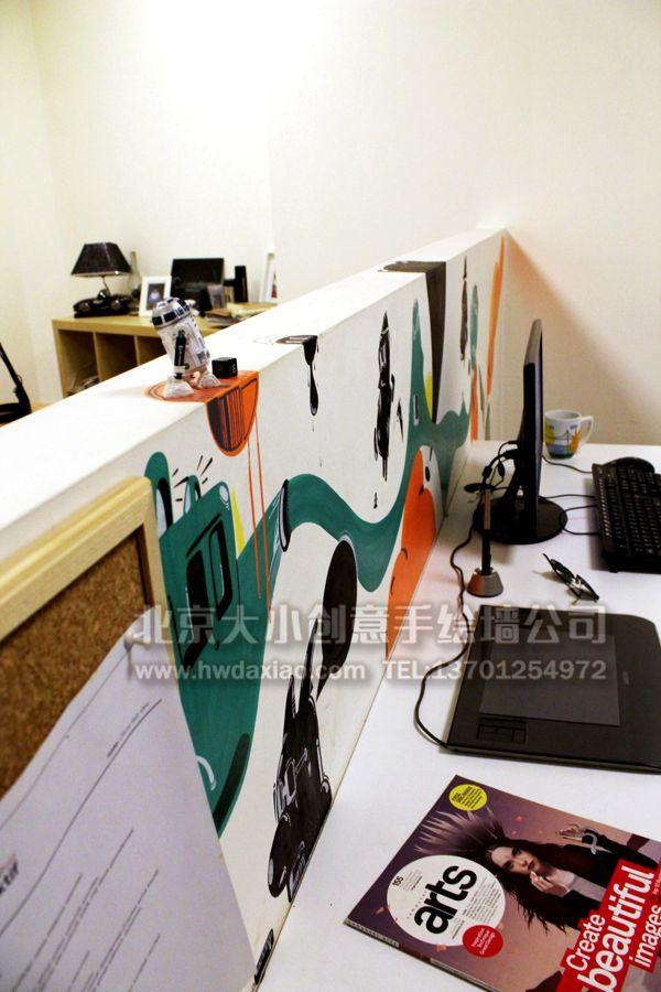 办公室墙绘效果图