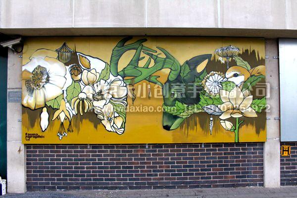北京大小创意手绘墙公司
