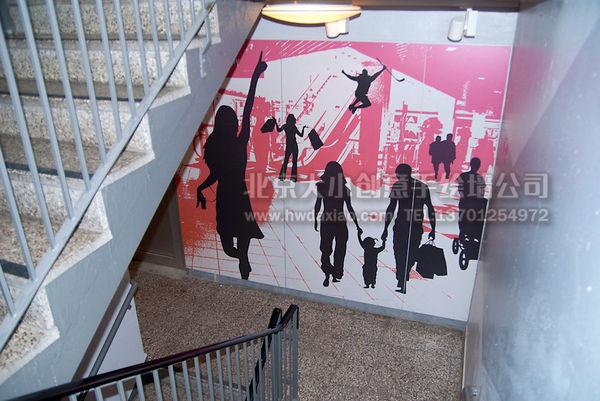 创意墙绘 办公室手绘墙 外墙彩绘 街道壁画 车库墙绘 走廊壁画 学校手