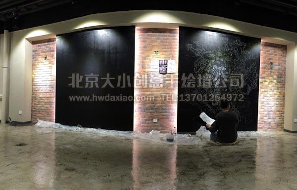 创意墙绘 办公室手绘墙 橱窗彩绘 车库墙绘 走廊壁画 时尚手绘墙 学校