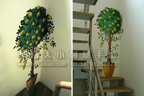 墙体彩绘 手绘壁画 墙绘价格 北京墙绘公司 手绘墙 电视背景墙 沙发背