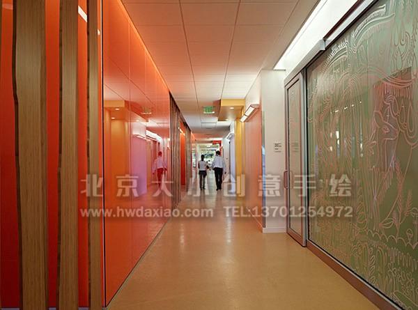卧室手绘墙 办公室手绘墙 店铺彩绘 校园彩绘 北京墙绘公司 手绘墙