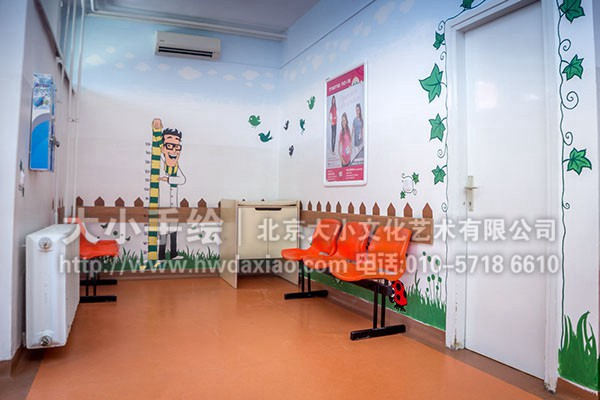 卡通墙绘 幼儿园墙面彩绘 文化墙彩绘 餐厅手绘墙 儿童医院壁画 卧室