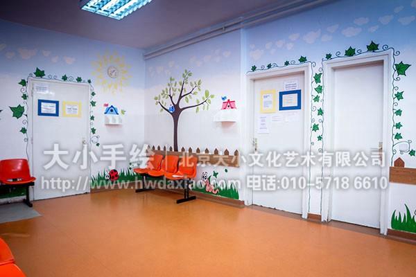 儿童医院壁画手绘