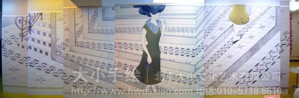 校园彩绘 北京墙绘公司 人物彩绘 手绘墙 墙体彩绘 墙绘价格 手绘壁画