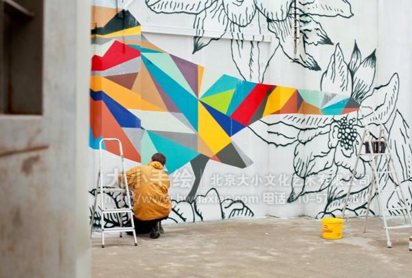 线描 走廊壁画 店铺彩绘 商场手绘墙 餐厅手绘墙 手绘墙素材 北京墙绘