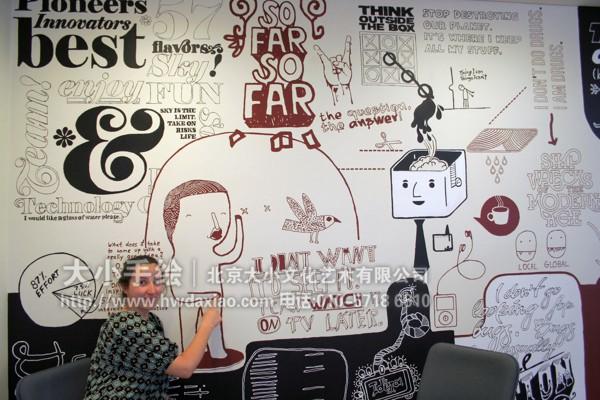 店铺彩绘 商场手绘墙 餐厅手绘墙 北京墙绘公司 手绘墙 墙体彩绘 墙绘