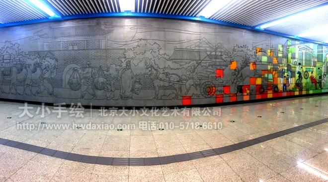 """同时,也可以关注我们的微信公众平台大小创意壁画,那里有更多好玩有趣的手绘作品欣赏。 [[img ALT=""""创意墙绘 地铁壁画 走廊墙面雕塑 办公手绘墙 涂鸦壁画 浮雕艺术 老北京生活 商场手绘墙 旅店手绘墙 酒吧手绘墙 文化墙彩绘 手绘墙素材 北京墙绘公司 手绘墙 墙体彩绘 墙绘价格 手绘壁画"""" src=""""http://simg."""