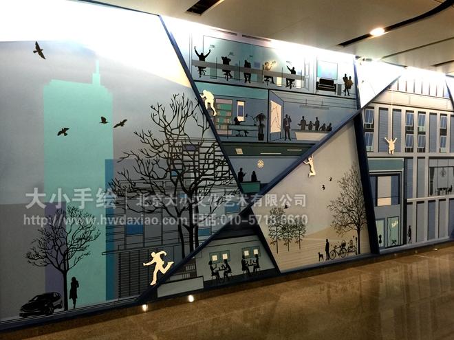 酒吧手绘墙 文化墙彩绘 手绘墙素材 北京墙绘公司 手绘墙 墙体彩绘