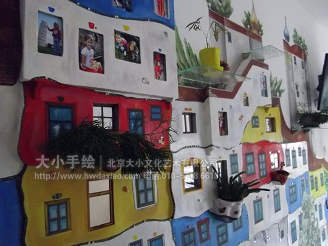 儿童房手绘墙 医院手绘墙