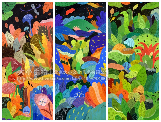 手绘墙素材 北京墙绘公司 手绘墙 墙体彩绘 墙绘价格 手绘壁画