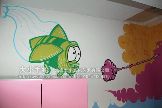 """同时,也可以关注我们的微信公众平台大小创意壁画,那里有更多好玩有趣的手绘作品欣赏。 [[img ALT=""""创意墙绘 教室壁画 儿童房手绘墙 幼儿园手绘墙 大象 鸟 山 蓝天白云 太阳 卡通动物 早教中心彩绘 校园手绘墙 餐厅手绘墙 文化墙彩绘 手绘墙素材 北京墙绘公司 手绘墙 墙体彩绘"""" src=""""http://simg."""