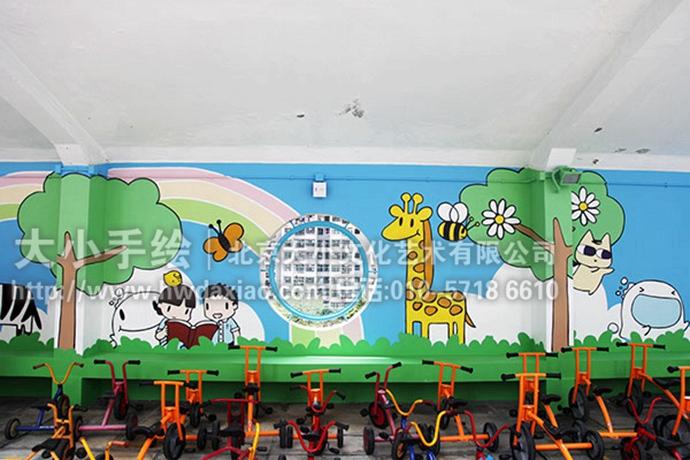 外墙彩绘,创意壁画,卡通墙绘
