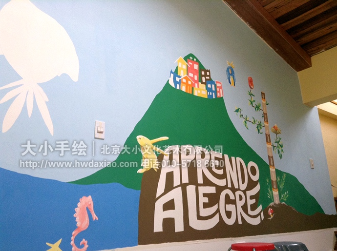 创意壁画,风景彩绘,卡通彩绘,餐厅手绘墙,办公室手绘墙,客厅墙绘,墙体