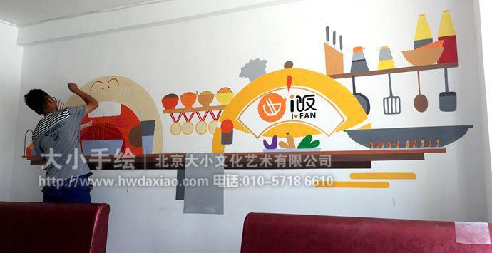 餐厅,厨房手绘,调料,炒锅,吃饭,煎炒烹炸,餐厅手绘墙,创意壁画,墙体图片