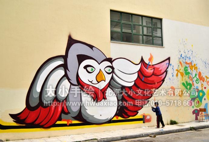 一些国外的户外街头涂鸦墙体彩绘欣赏_北京大小手绘