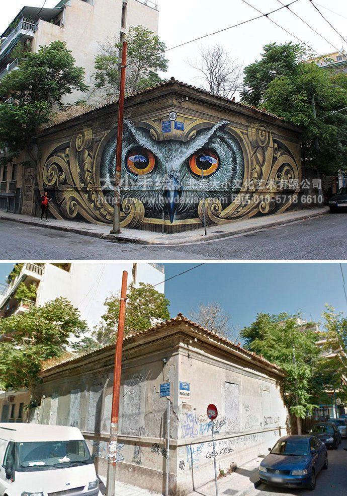 街头艺术墙绘,涂鸦彩绘,3d立体手绘墙,创意壁画,餐厅手绘墙,办公室