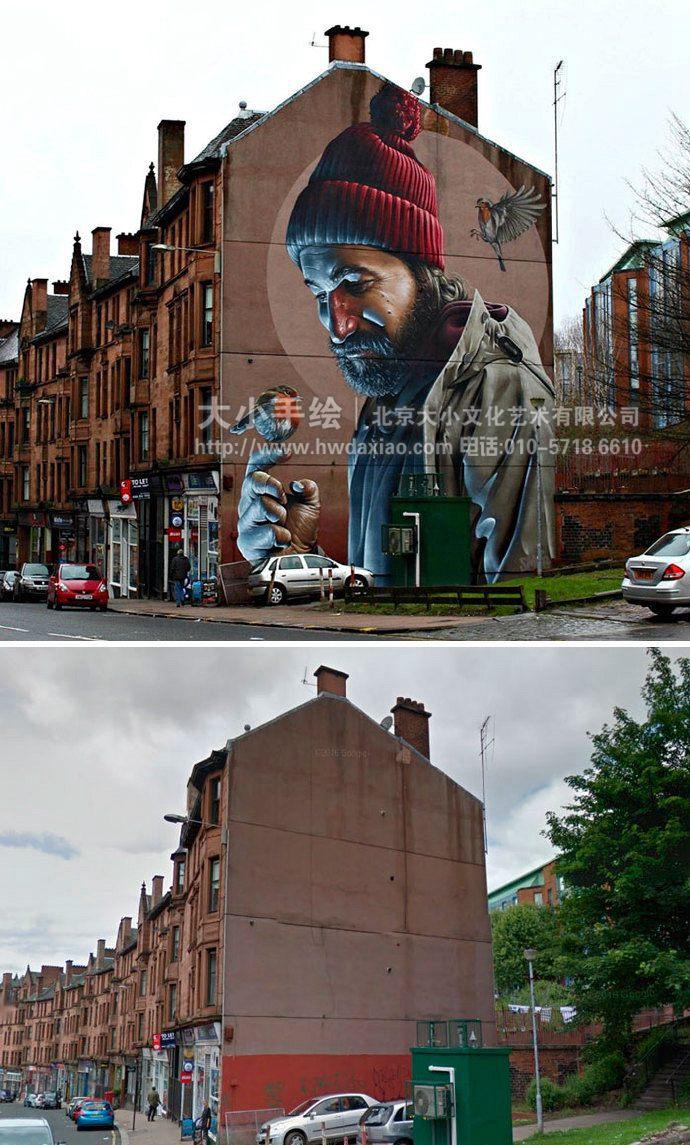 国外街头手绘墙艺术改变生活(2)