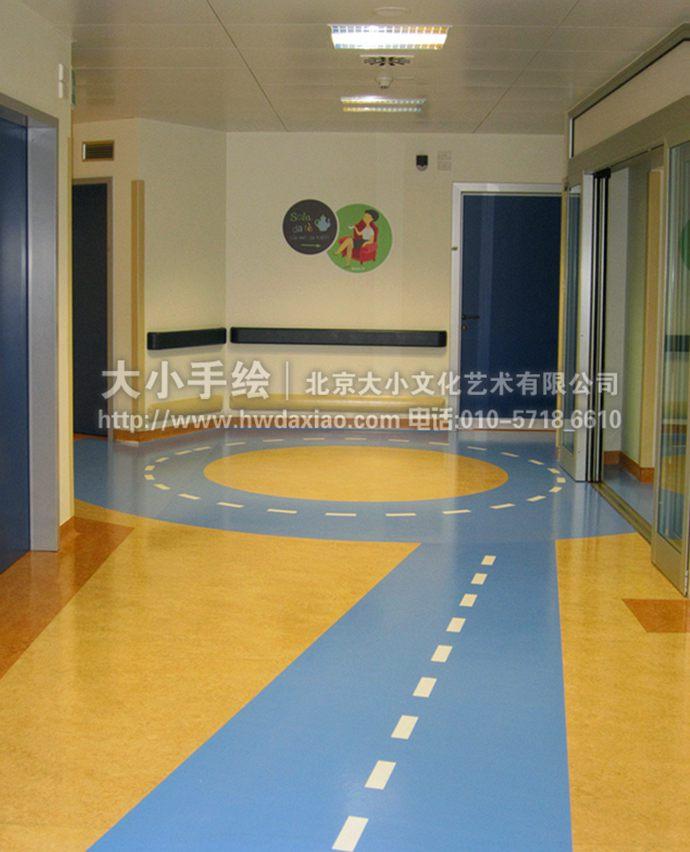 生活场景墙绘,儿童房彩绘,幼儿园手绘墙,自行车,树林,早教中心壁画,餐