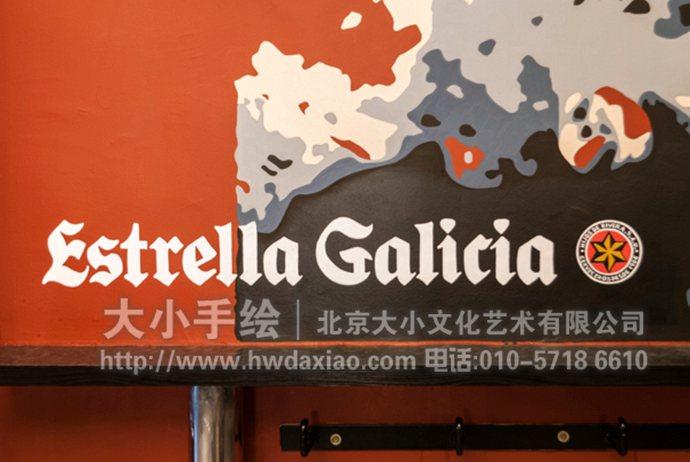 人物头像墙绘,创意手绘墙,电影元素彩绘,咖啡厅壁画,餐厅手绘墙,办公