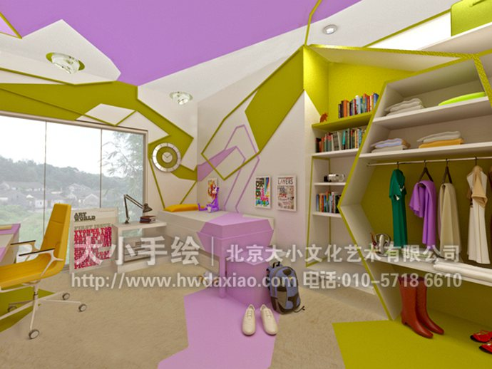 家居彩绘,创意壁画,餐厅手绘墙,办公室手绘墙,北京墙绘公司,室内墙绘
