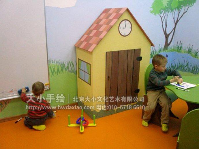 幼儿园壁画,餐厅手绘墙,办公室手绘墙,北京墙绘公司,室内墙绘,墙绘