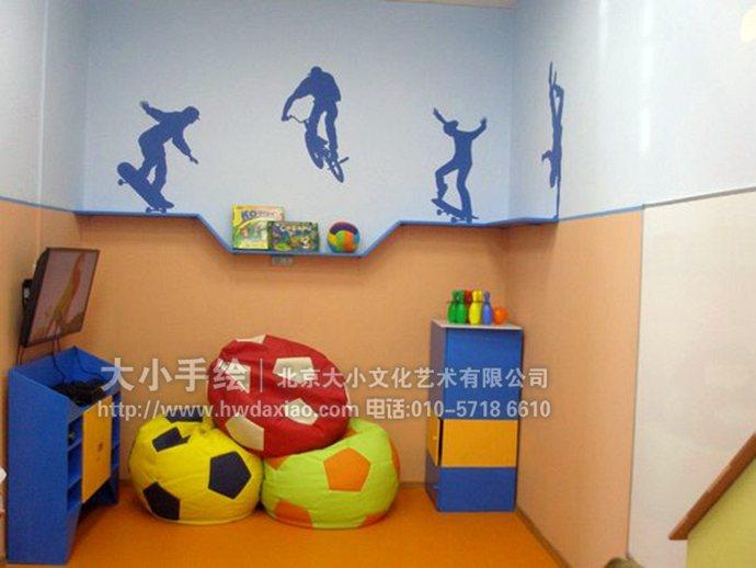 卡通墻繪,兒童房手繪墻,早教中心彩繪,幼兒園壁畫,餐廳手繪墻,辦公室