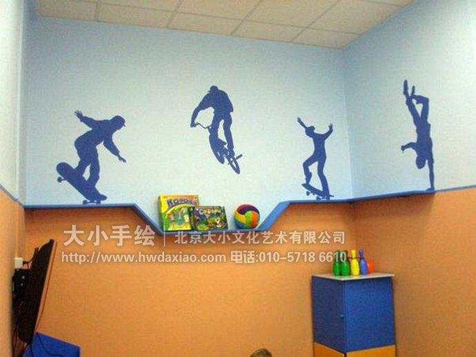 儿童房手绘墙,早教中心彩绘,幼儿园壁画,餐厅手绘墙,办公室手绘墙